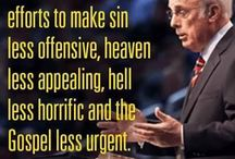 Bible stuff and quotes from real pastors and evangelists