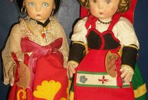 Rag dolls / The dolls and puppets of 19th and 20th century in France.