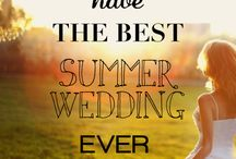 Summer Wedding Receptions and Ceremonies / Inspiration and ideas for your summer wedding event