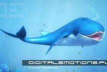 Błękitek - Mówiący Wieloryb / Błękitek to niepowtarzalny, interaktywny, jedyny na świecie Wieloryb, z którym można porozmawiać na każdy temat. Ten ssak o nieprzeciętnej inteligencji zaskakuje wiedzą i elokwencją. Bawiąc uczy, ucząc bawi, tryska energią i dobrym humorem. W niespotykany, ciekawy sposób zgłębisz z nim tajniki oceanu