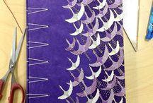Encadernação Artesanal / Bookbinding / Papelar, costurar, encadernar... Diversas capas e formas de costura para esta arte incrível.