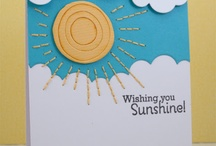 """Cards - Encouragement / The cards on this board aren't quite """"Get Well"""" cards; instead, the main theme will be cards that cheer people up or cheer people on.  I have been pinning a lot of sunshine cards lately, which necessitated creating this one!"""