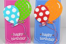 Cards balloons / by Aletta Heij