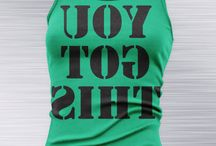 Fun tees and tanks for Studio Barre days / Tanks and tshirts
