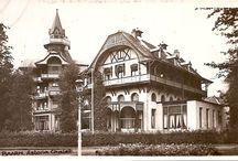 Badhotel (Bavohuis) (Hotel Astoria) / Een bekend gebouw in Baarn, maar onder diverse namen bekend. Het Badhotel, het Bavohuis of Hotel Astoria