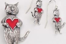Edward Gorey Silver Jewelry