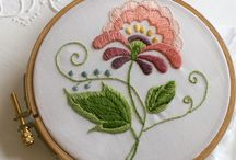 Embroidery brodering