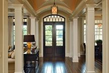 Gorgeous Entry Ways / The entry way is the first room your guests see!