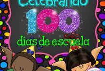 100 días de escuela