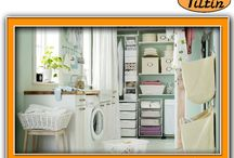 Home Laundry Room Cabinets / 100% SATISFACTION GUARANTEED Tiltin Windows, Doors & More proudly serves the area from Green Bay through Madison to the Wisconsin-Illinois border. Visit us http://utiltin.com/