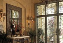 Tuscan Door Entry Halls / by Becky Boberg