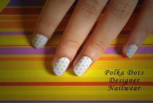 Polka Dots Nail Stickers