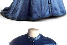 Clothing - 1837- 1879 Victoria Era - Circa 1837-1879