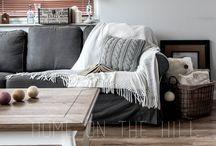 Living room / stylowy salon / zdjęcia stylowego salonu pełnego różnych dodatków