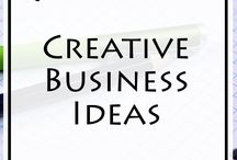 Creative Business Ideas / Creative Business Ideas is a board where you'll find the best business ideas, that can help you Become Successful. I'm sharing many original business ideas with you. Those ideas will help you realize that you can achieve success in many interesting and creative ways.  Share the creativity and the success with others, share one of the Pins you like.