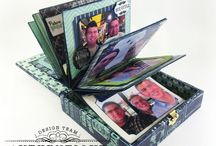 cigar boxes / by Mindy Ford Allen
