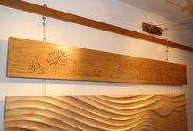 Wood Wallart / Generally CNC machined wall panels and art