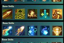 Games - skill icons