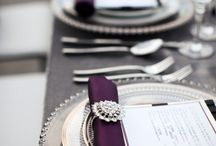 Tablescapes and Table Settings for Wedding Receptions / Ideas and Inspirations for Tablescapes and Table Settings