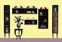 Sims 2 - Buy - Shelves