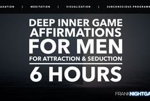 Affirmations for Men for Pickup, Attraction and Seduction