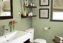Sage Green Bathrooms