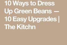 Recipes - Warm Vegetables