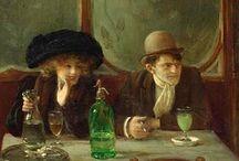 absinthe & absentia - assenzio / Storia letteraria e artistica per immagini dell'assenzio
