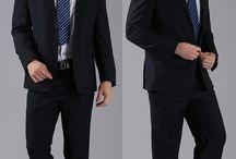 Men Suits Jacket Pants Trousers