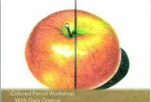 Art Instruction-Coloured Pencils