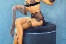 pinup animaux
