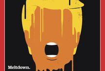 Donald Trump-Pop art