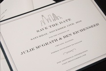 A Very Important Date / Save the Dates from Clementine Ink + Paper for Chicago and beyond.