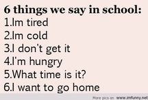 Things I can relate to