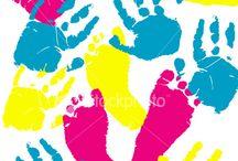 Handprints and Footprints