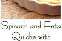 Quiches/ Tarts