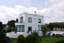 Villa Johanna / Rijksmonument Villa Johanna van architect #Willem Maas #de Stijl #Jutphaas #Nieuwegein #Funtionalisme #Rietveld #Mondriaan #Rijksmonument