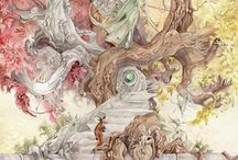 The Art of Stephanie Pui Mun Law / Fantasy art illustrations by Stephanie Pui Mun Law.