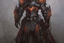 armors and weapons