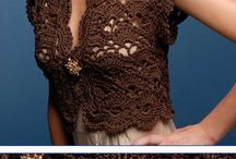 VESTS: crocheting & knitting