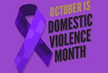 Domestic Violence Awareness / October is Domestic Violence Awareness Month.  Substance Abuse and Domestic Violence are often tied together.  Break the silence!