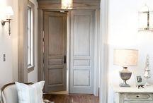 Cupboard doors and interior design