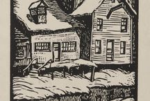 Seasons: Winter / Many artists have drawn inspiration from winter, the snowy outdoors, and the activities that accompany winter weather. Here are some modern and contemporary artworks from the Akron Art Museum collection. Visit https://akronartmuseum.org/collection/ to view more of the work in the museum collection.