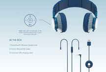 3D Models of SoundSwell's Headphones, Earphones and Speakers / This project started out as a gift, a gift to myself. As a passionate runner, I personally struggle everyday with my earphones.  Having two different ear canals, I spend most of the time adjusting them making difficult to run. The fact the I always need my smartphone on my hand for the simplest action like changing songs doesn't help either. So I thought to design my own personal earphones. My first concern/goal was to design something unique, simple and helpful.