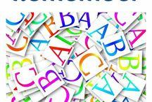 School literacy-alphabet