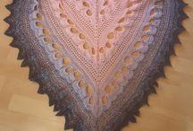 My crochet shawls
