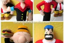 Decoracao popeye