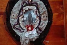 Gothic wall hanging by Elena Cavalli