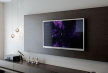 Televizní a HiFi stěny