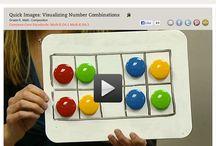 Math - Subitize / Fun ideas for teaching math  in the kindergarten classroom. Subitize
